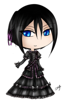 contest entry - miss kawaii caelis by silverei