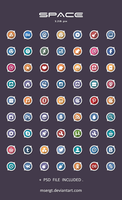 Space Icons by msergt