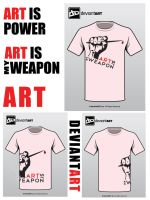 Art Is My Weapon by Korgone