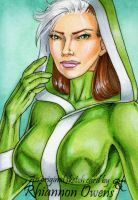 Rogue Sketch Card '09 by Dangerous-Beauty778