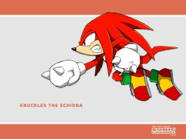 Knuckles the Echidna - SC by SakuraHaruno1315