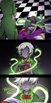 Homestuck - Complacency of the Learned by Niconekoness