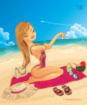 Girl on Vacation by krmn777
