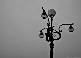 Old street lamp... by Yohao88DG