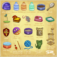 CatWorld Items by charlottei