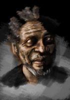 Morgan Freeman by The-Phoenicorn