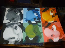 ze carioca painting donee by G-Blue16