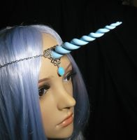 Heavenly Unicorn - Tiara with Horn by Ganjamira