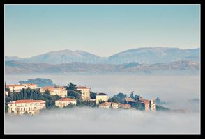 fog town ... by OrazioFlacco