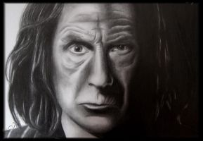 Bill Nighy by KleopatraAurel