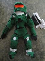 Old Master Chief Plush by laurenn203