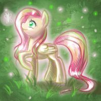 Fluttershy sketch by Dany-the-Hell-Fox