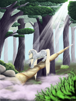 Unicorn Horn by Nala-l-Taiir
