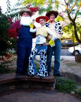 Toy Story: The Round-Up Gang Cosplay, 2008 by iambrose777