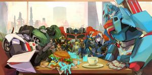 Optimus family by beroberob