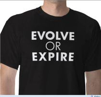evolve or expire T by Styleuniversal