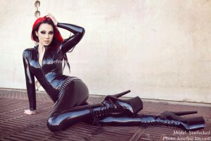 _Catsuit. by Bloddroppe