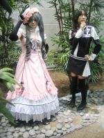 AX09: Ciel and Lenalee by Taymeho