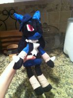 Jade Plush Commission by Sparkz8D
