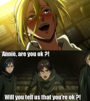 Eren sings for Annie by Eroshik