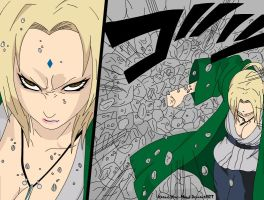 Tsunade - Hokage Strength by Xpand-Your-Mind