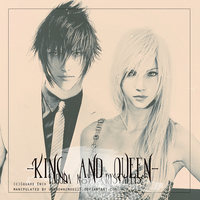 King and Queen (Fabula Nova Crystallis) by unknownimouz15