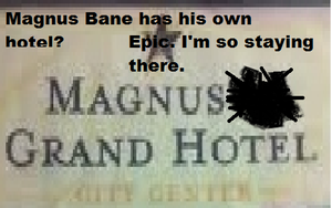 Magnus(on) Grand Hotel by BloodySilverSoul