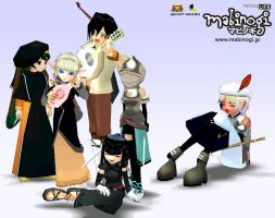Mabinogi Foreign Fans by Shadow443