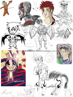 Sketch dump August17 to Sept8 by Xetak6