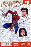 Eric's Spider-man cover by hdub7