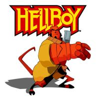 Hellboy animated by witchking08