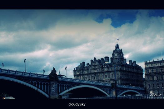 cloudy sky by archonGX