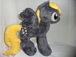Derpy Hooves Plush by SweetwaterPony