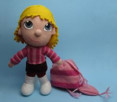 Edith (Despicable me) plush without hat by tstelles