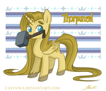 MLP - Tangled - Thor - Thorpunzel by caycowa