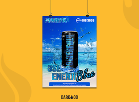 Powerful Energy Drink poster by DarkodDesign