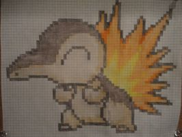Happy Cyndaquil by Mannythe8-BitKid