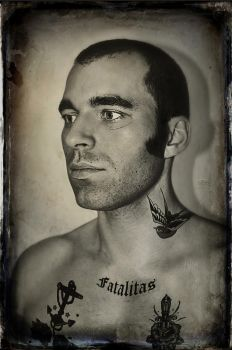 Convict tintype by cyferus