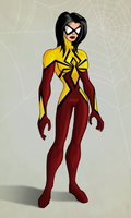 Spider Woman Redesign by payno0