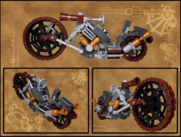 LEGO. Steam Choppa by DwalinF
