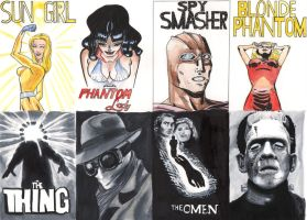 sketch cards by The-BenShaw