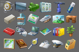 Icons for game 12 by Kifir