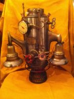 Steampunk jet pack. by cptnmat