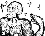 handsome squidward by rubbe