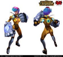 League of Legends: Neon Strike Vi 2012 by cg-sammu