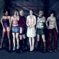 Ladies of Silent Hill by Bahlinka
