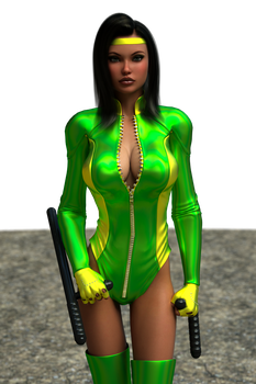 B. Orchid 1 from Killer Instinct - by Ironhead333 by malth