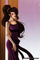 Art Trade - Megara by irenukia