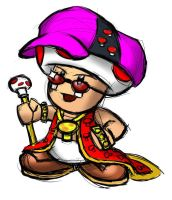 Toad pimp by Inouskei