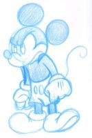Rough Mickey 3 by superdog527